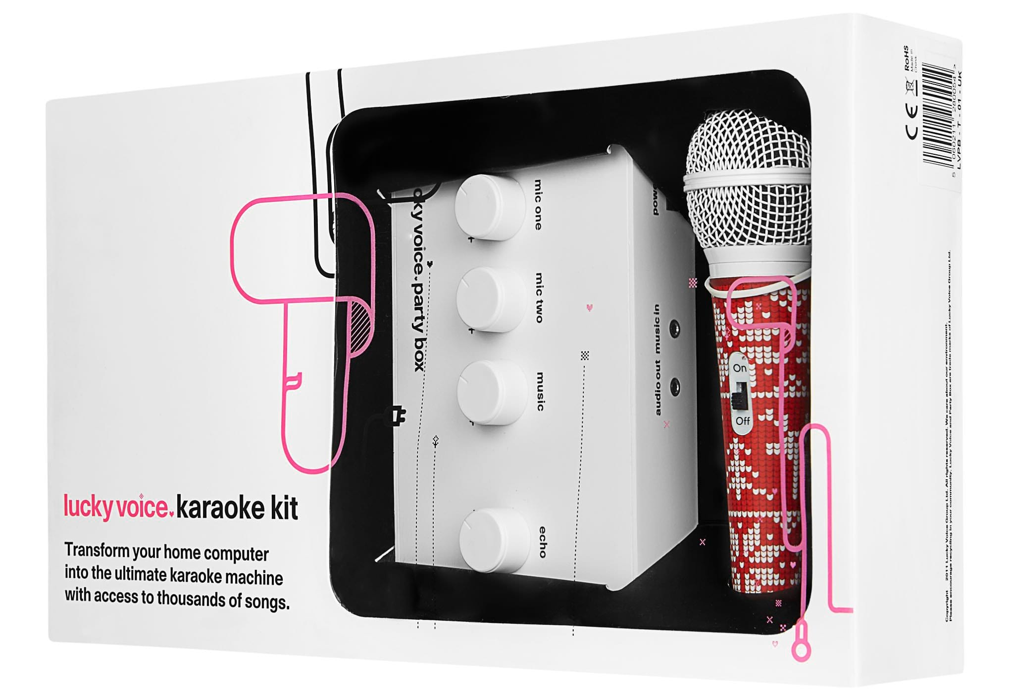 **Limited Edition** Christmas Karaoke Machine