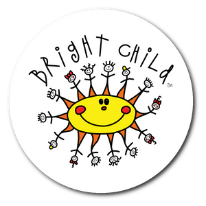 Bright Child Classic Logo Round Sticker