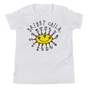 Classic Logo Youth White T-Shirt