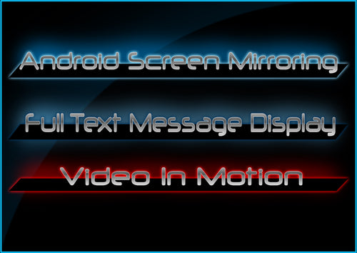 BMW Android Screen Mirroring Full Text Message Display Video In Motion
