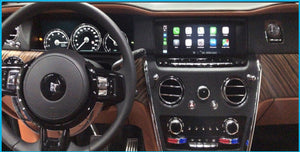 Rolls Royce Apple Carplay, Video In Motion Activation via PC
