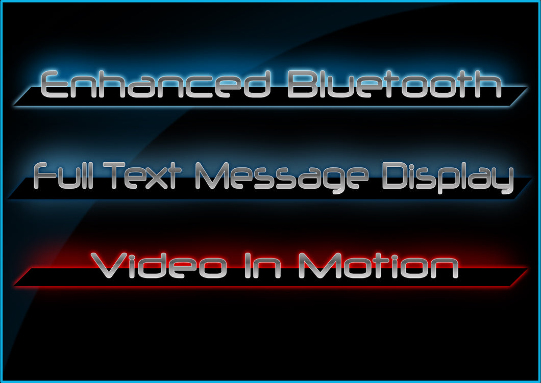 Full Message Display Enhanced Bluetooth Video In Motion (Nbt)