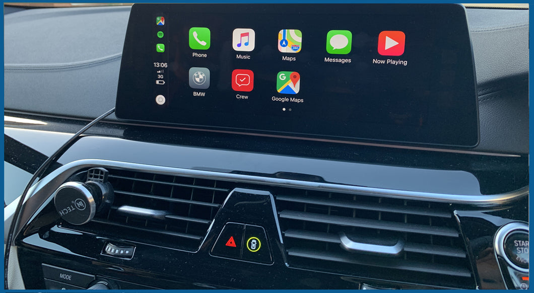 BMW Full Screen Carplay Activation
