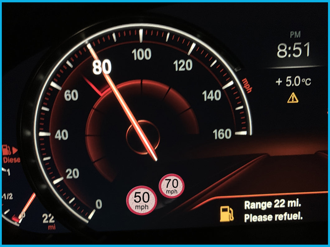 Speed Limit Information activation via PC