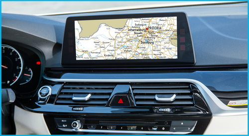 Mini and BMW GPS Update Road Map Southern Africa Move 2021