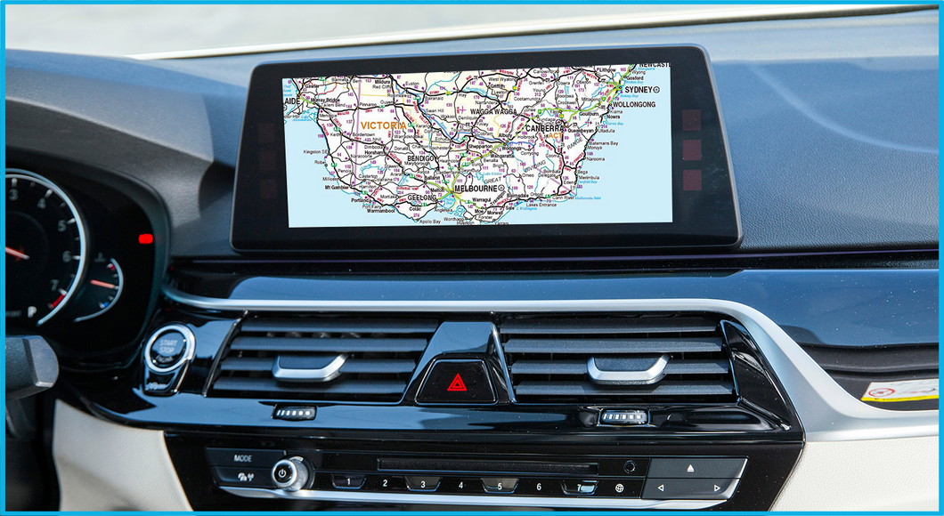Australia & New Zealand Road Map Move 2017-1 bmw sat nav update