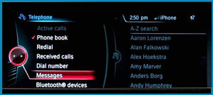 Full Text Message Display