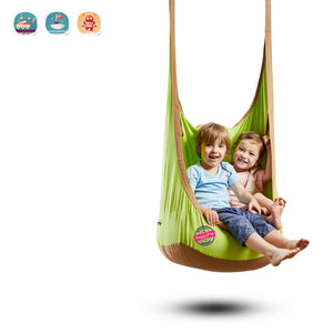 HappyPie Frog Folding Hanging Pod Swing Seat Indoor and Outdoor Hammock for Children to Adult