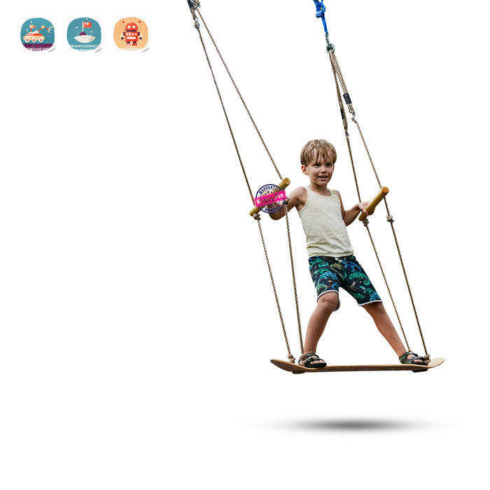Stand Up Surfing Swing - Easily Surf The Air