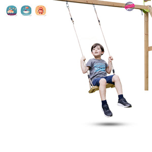 Nostalgic Children to Adult Wooden Hanging Swings Seat