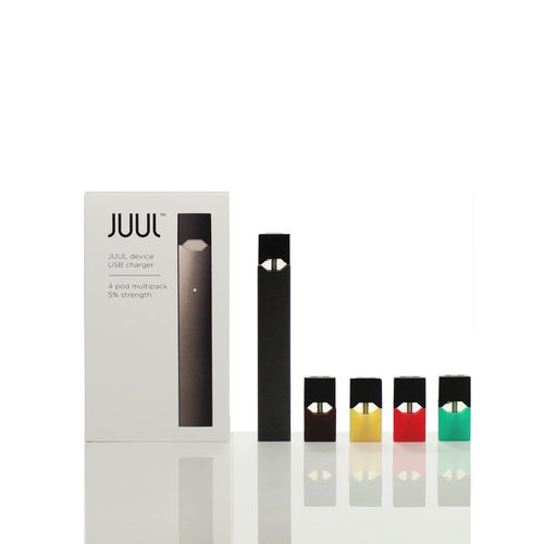 JUUL All In One Starter Kit With ELiquid PODs 4 Pack At