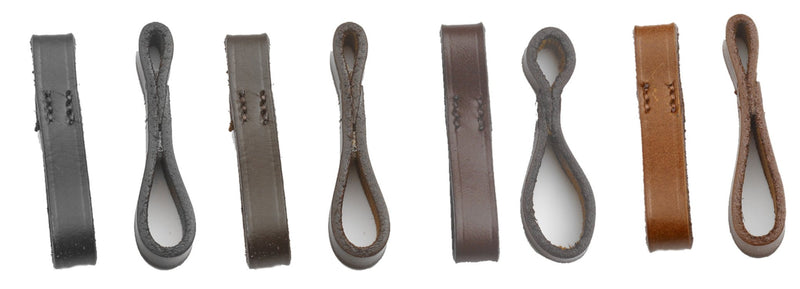 Camelot Leather Bit Loops