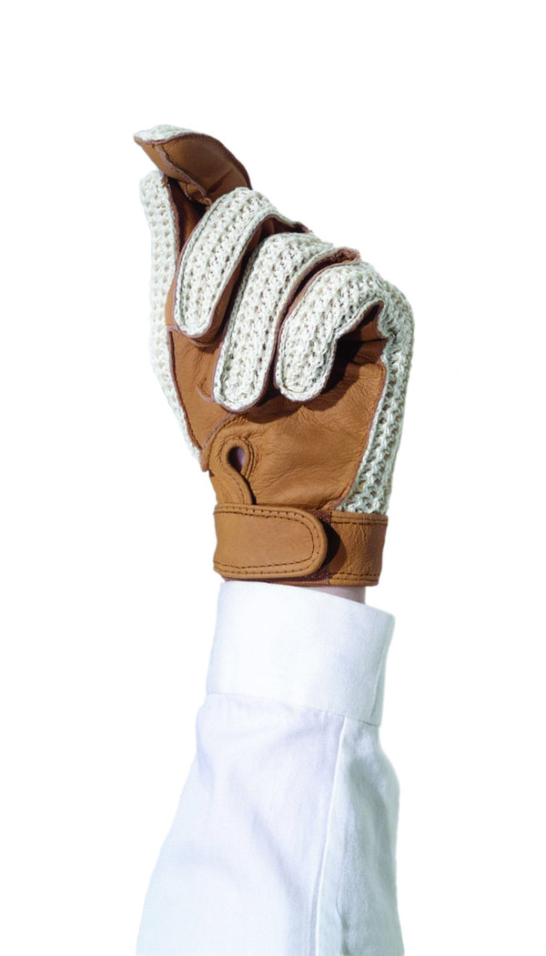 Ovation Ladies Sport Crochet Back Gloves