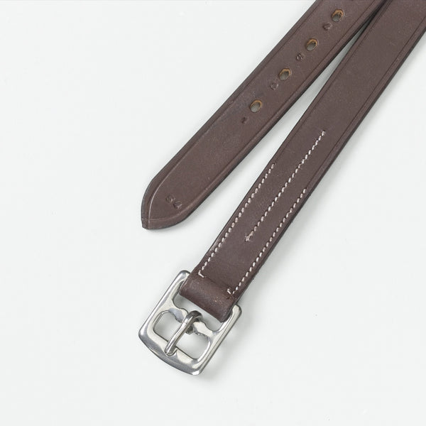 Ovation Solid English Leather Stirrup Leathers