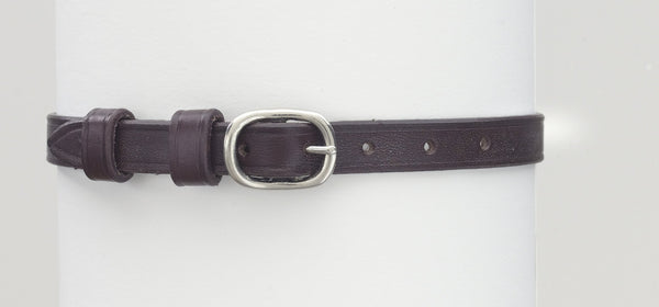 Ovation English Leather Spur Straps