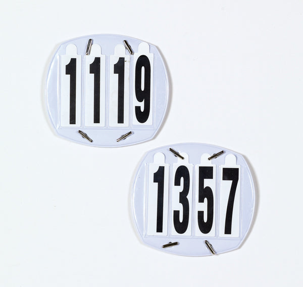Equiessentials 4-Digit Show Number Set