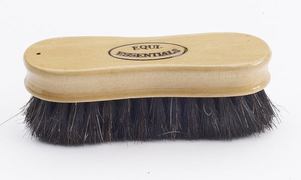 Equiessentials Wood Back Face Brush with Horse Hair
