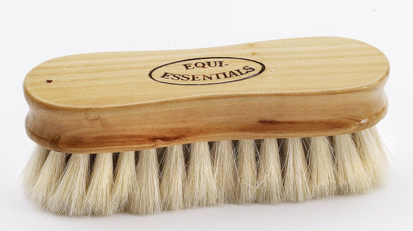Equiessentials Wood Back Face Brush with Goat Hair