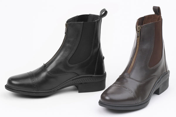 Ovation Ladies Aeros Show Zip Paddock Boot