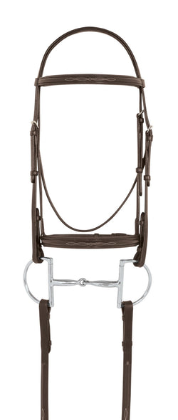 Camelot Fancy Stitched Raised Padded Bridle