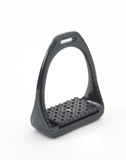 Compositi Carbon Look Reflex 3D Swivel Action Wide Track Stirrups