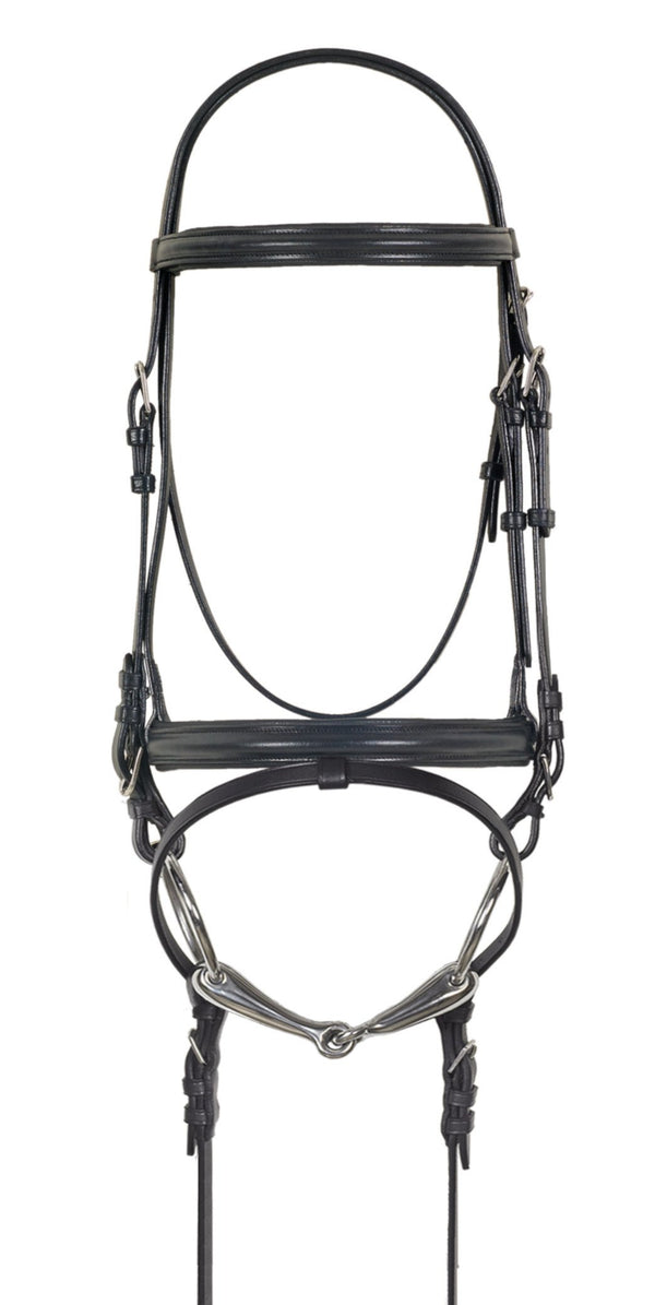 Camelot Crank Flash Dressage Bridle
