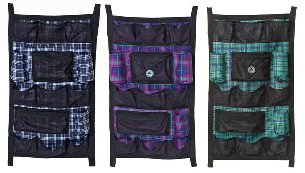 Centaur Plaid Lined Pad Door Organizer