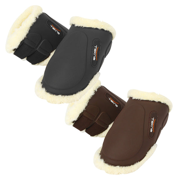Tekna Sheep-Tek Sheepskin Fetlock Boots with Quik-Close Straps