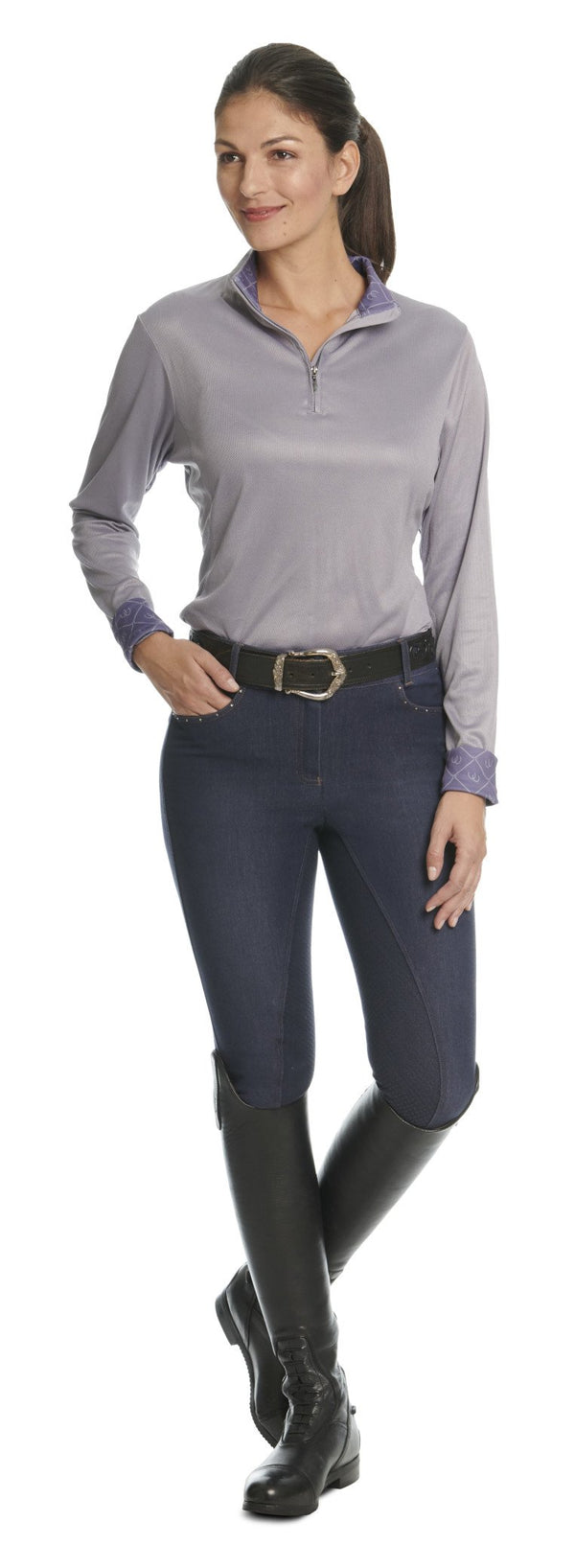 Ovation Ladies Sienna DTX GRIP Full Seat Breeches