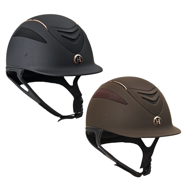 One K Defender Rose Gold Stripe Helmet