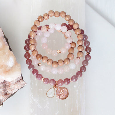 Fire Within Me Wrist Mala