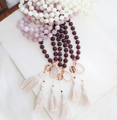 Heal Deeply Mala Necklace