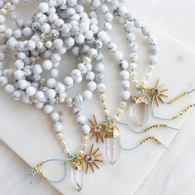 The High Priestess Mala Necklace