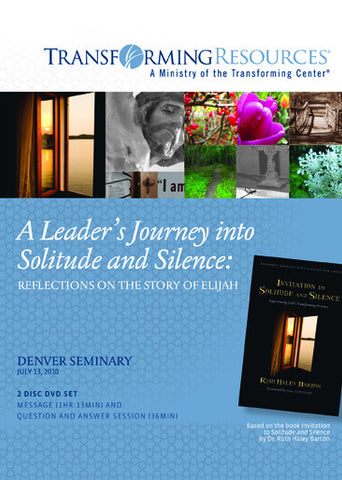 A Leader's Journey into Solitude and Silence: Reflections on the story of Elijah