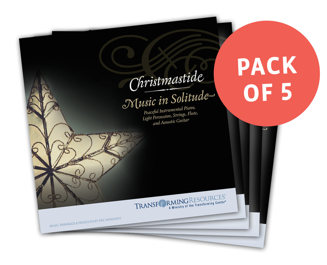 Christmastide: Music in Solitude - CD Bundle – Save $15