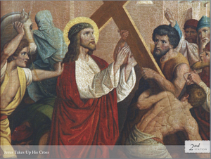 Praying the Stations of the Cross PowerPoint Presentation License