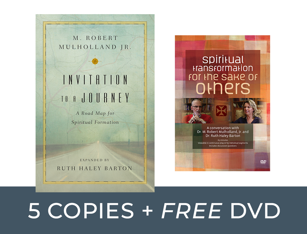 Invitation to a Journey / Spiritual Transformation for the Sake of Others DVD Bundle