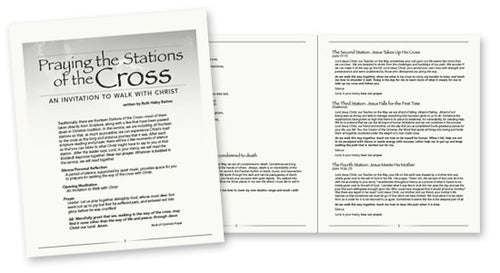 Duplication License for Praying the Stations of the Cross service booklet