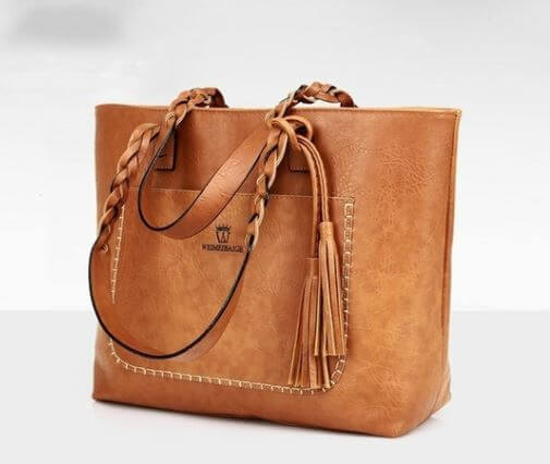 Tassel Famous Designers Leather Shoulder Tote Bags