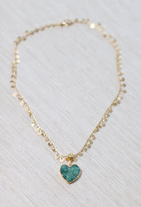 The Jasmine Necklace // Green