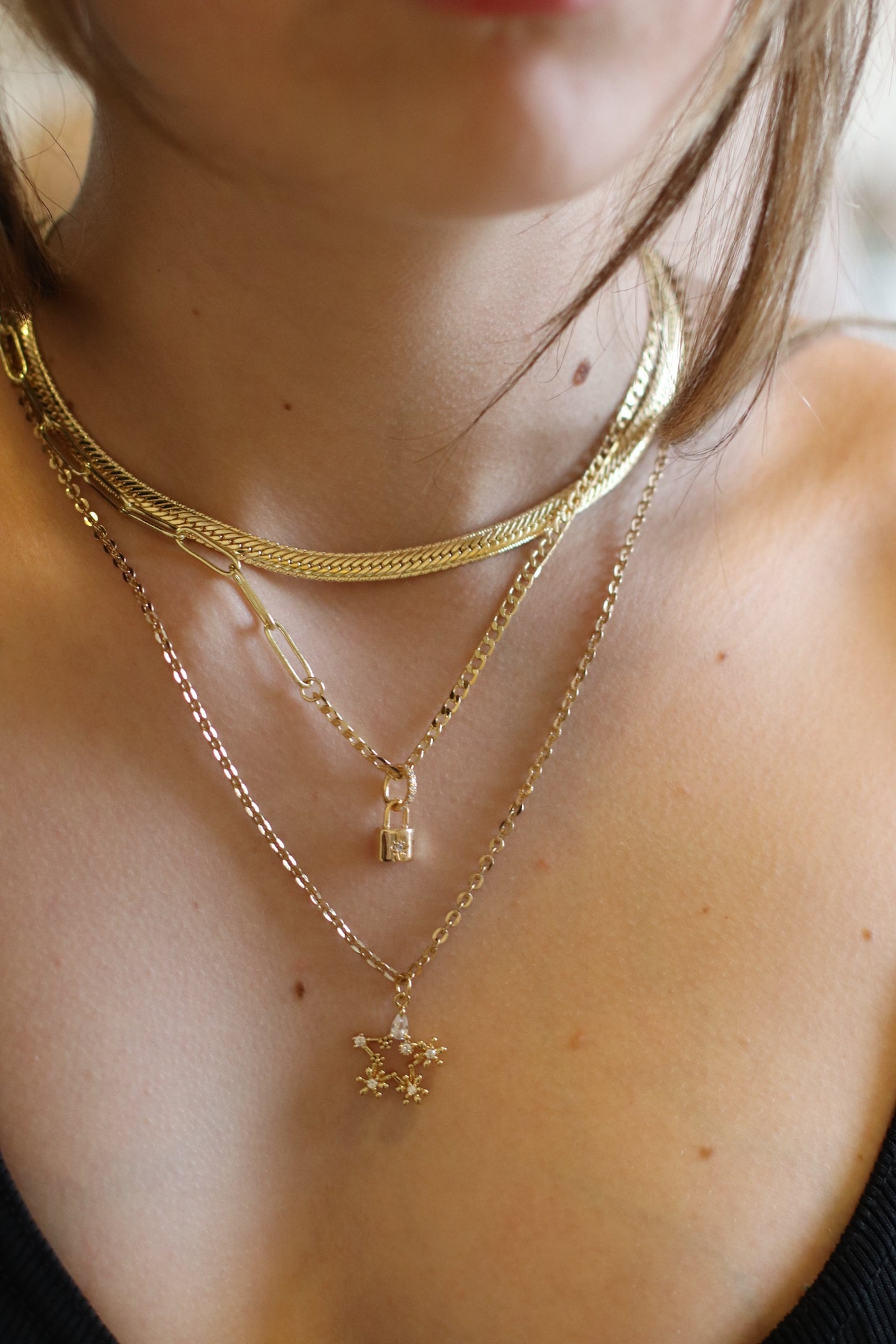 The Snake Chain Choker