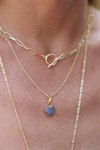 The Roxanne Necklace // Blue