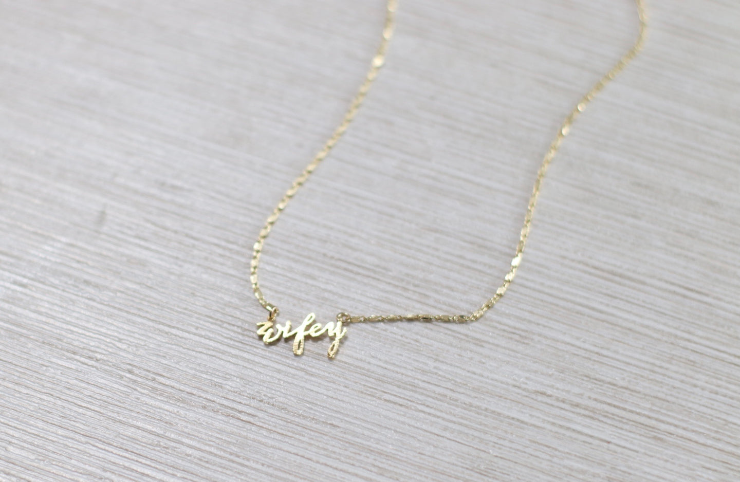 The Wifey Necklace