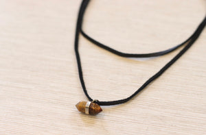 The WinteR Necklace // Tiger's Eye