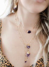 Load image into Gallery viewer, The Lily Lariat // Amethyst