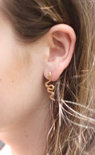 Load image into Gallery viewer, The Snake Earrings