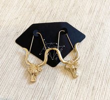 Load image into Gallery viewer, The Zodiac Earrings // Taurus