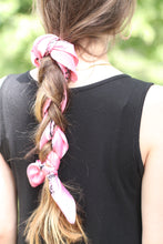 Load image into Gallery viewer, Boho Bandana // Pink Python