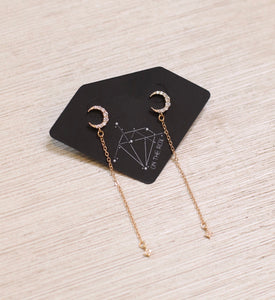 The Goodnight Moon Earrings