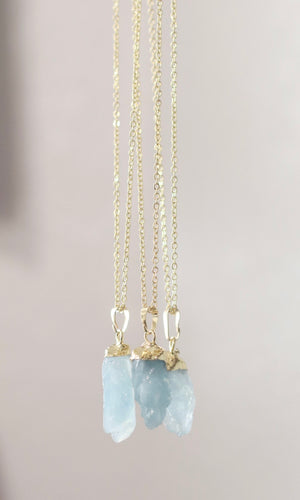 The Aquamarine Necklace